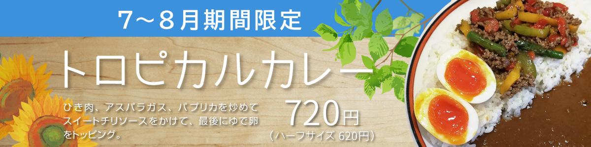 トロピカルカレー【7月・8月限定商品】